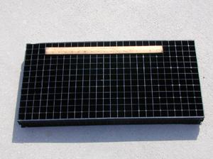 Figure 1. One-piece hard plastic flat.