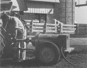 tractor PTO driven alternator