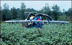 Air-assisted sprayer