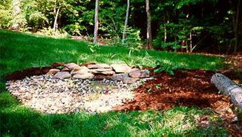 Bioretention areas
