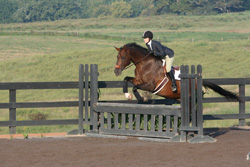 Figure 5: Incorrect front leg technique.