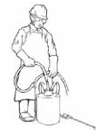 Always use all personal protective equipment (PPE) required on the pesticide label.