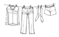 Any clothing worn while working with pesticides should be washed separately from all other clothing.