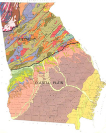 Figure 4. Georgia soil map (for detailed information, visit