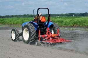 tine weeder on tractor