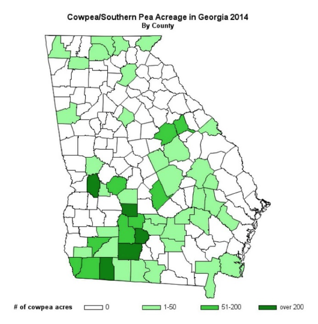 Crop Profile for Cowpeas in Georgia | UGA Cooperative Extension