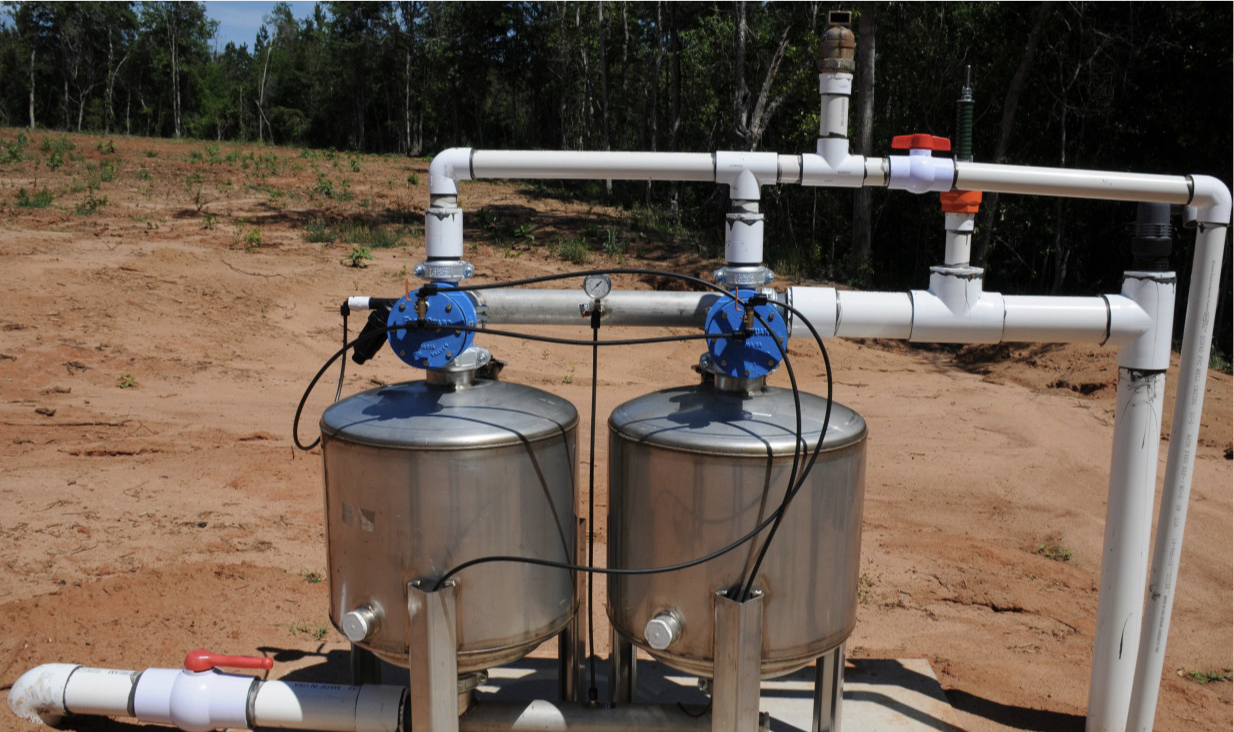 A sand filter system