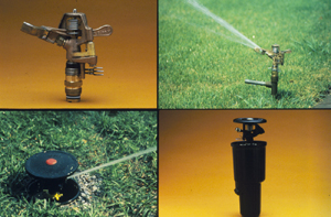 Figure 1. Rotary sprinklers.