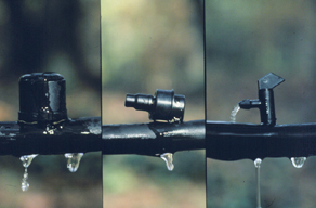 Figure 7. Typical drip emitters.
