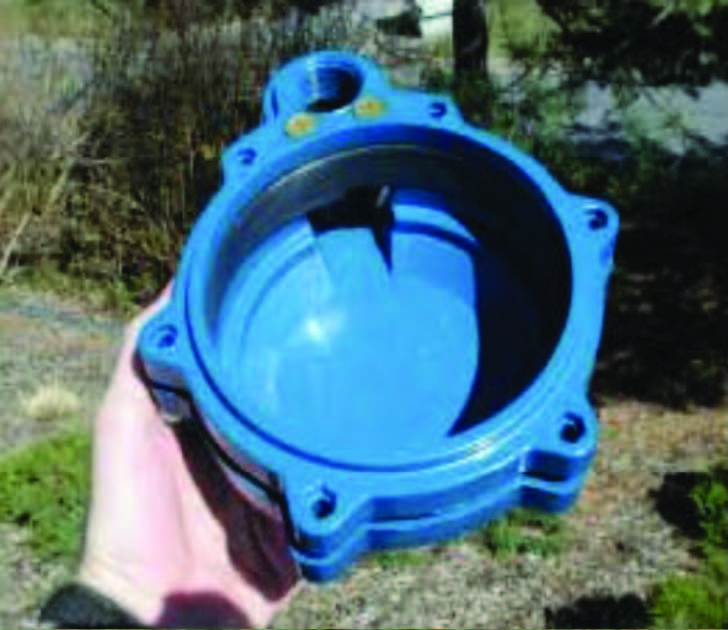 Sanitary Well Cap The airtight rubber gasket seal prevents entry of anything, while the screened vent allows for air exchange. http://pubs.cas.psu.edu/freepubs/pdfs/xh0011.pdf