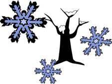 snowy ornamental
