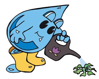 Waterdrop watering