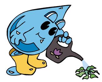 Watering Waterdrop