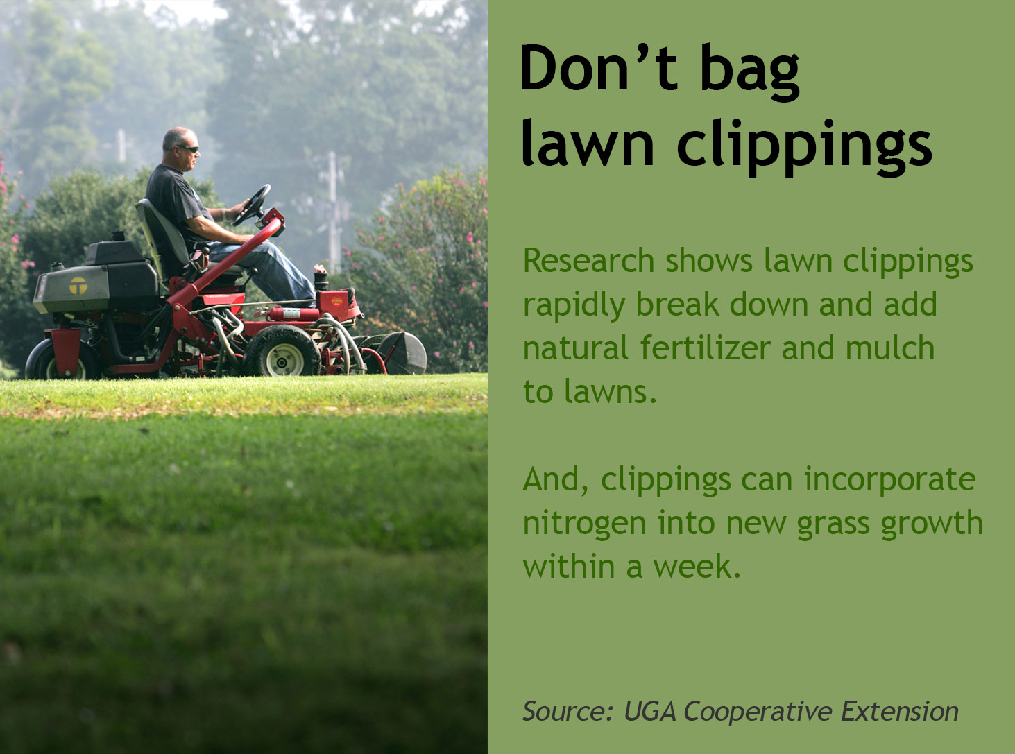 Don't Bag Clippings