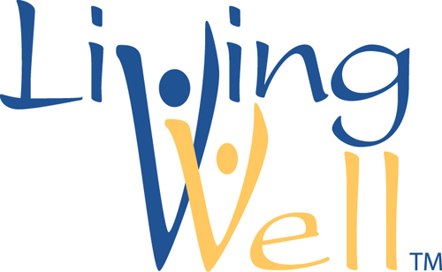 Living Well logo to accompany FACS column series.