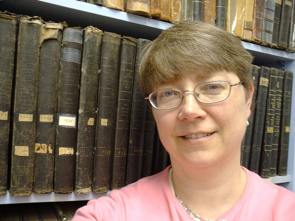 Agricultural climatologist Pam Knox's office is filled with volumes of old weather observations. These book contain the original hand written weather statistics from Atlanta in the beginning of the 20th century.