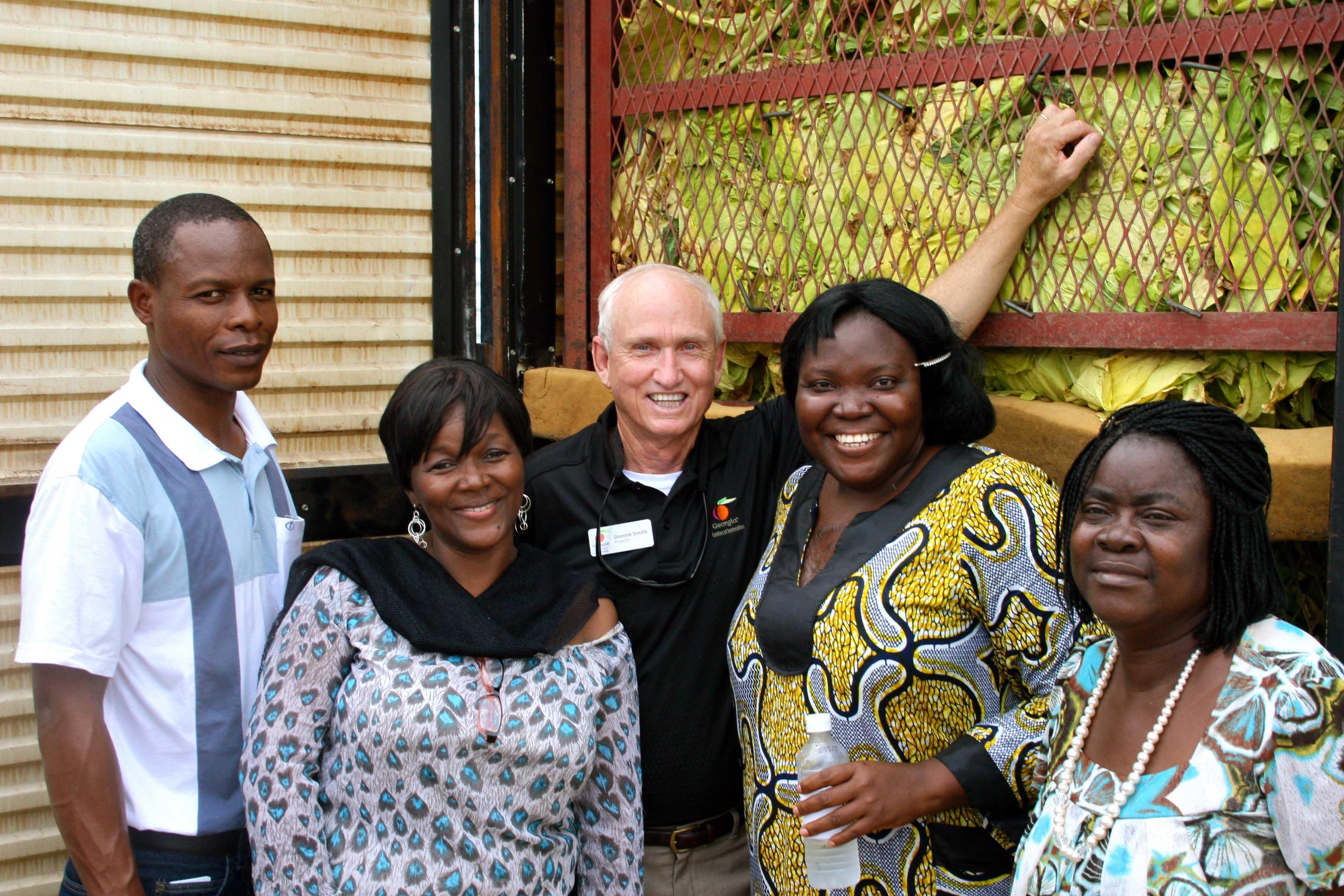 African delegation visits Tifton