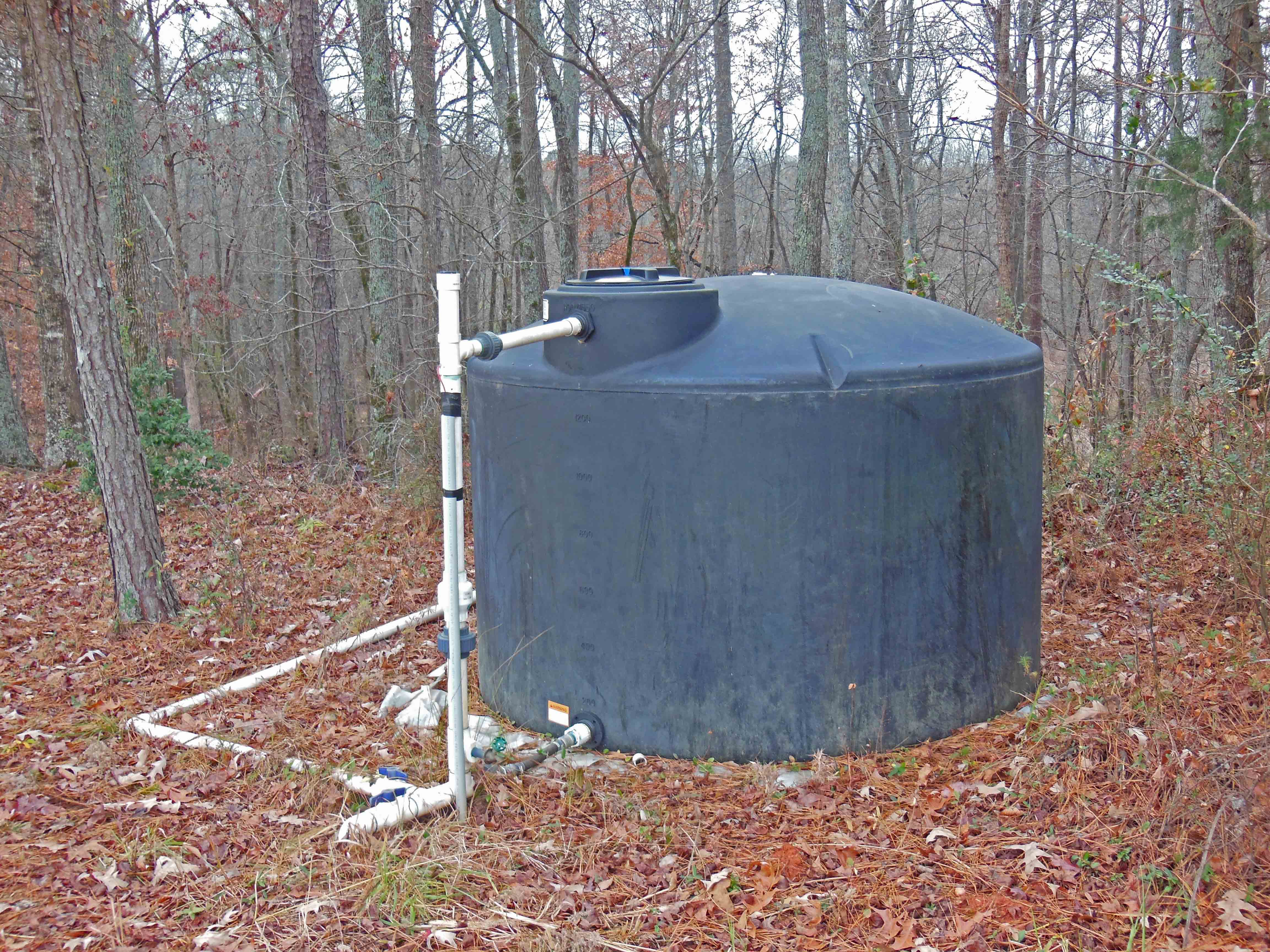 Gary Hawkins, the UGA College of Agriculture and Environmental Sciences Crop and Soil Science researcher, installed solar-powered well for cattle at a farm in Madison County. Hawkins designed the system to fill this 1,500 gallon tank with only about 5 five hours of sunlight.