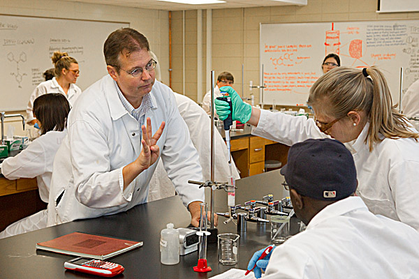 UGA Food Science and Technology Professor Ron Pegg is one of three UGA faculty members who will receive the 2013 Richard B. Russell Award for Excellence in Undergraduate Teaching, the university's highest early career teaching honor.