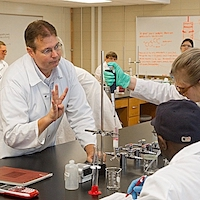 Ron Pegg, professor in the UGA College of Agricultural and Environmental Sciences Department of Food Science and Technology, has been awarded a 2019 UGA Josiah Meigs Distinguished Teaching Professorship.