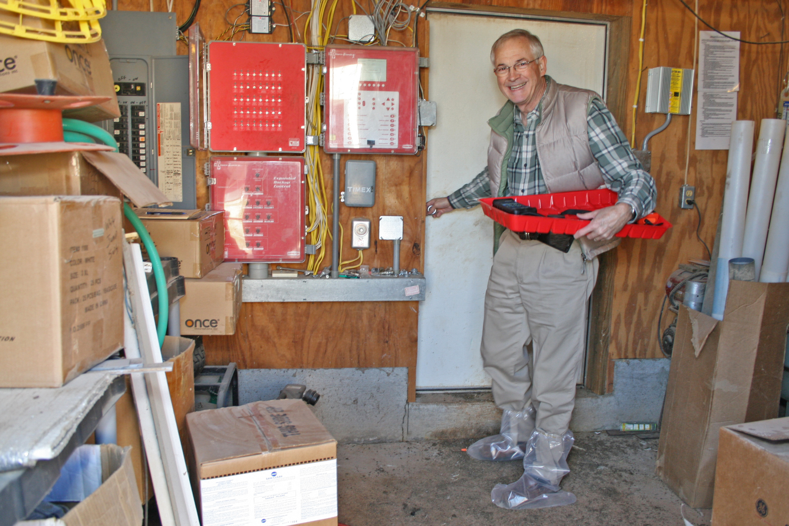 John Worley has spent the last several years making Georgia's most high-dollar agricultural industry more profitable by helping farmers make their broiler houses more efficient.