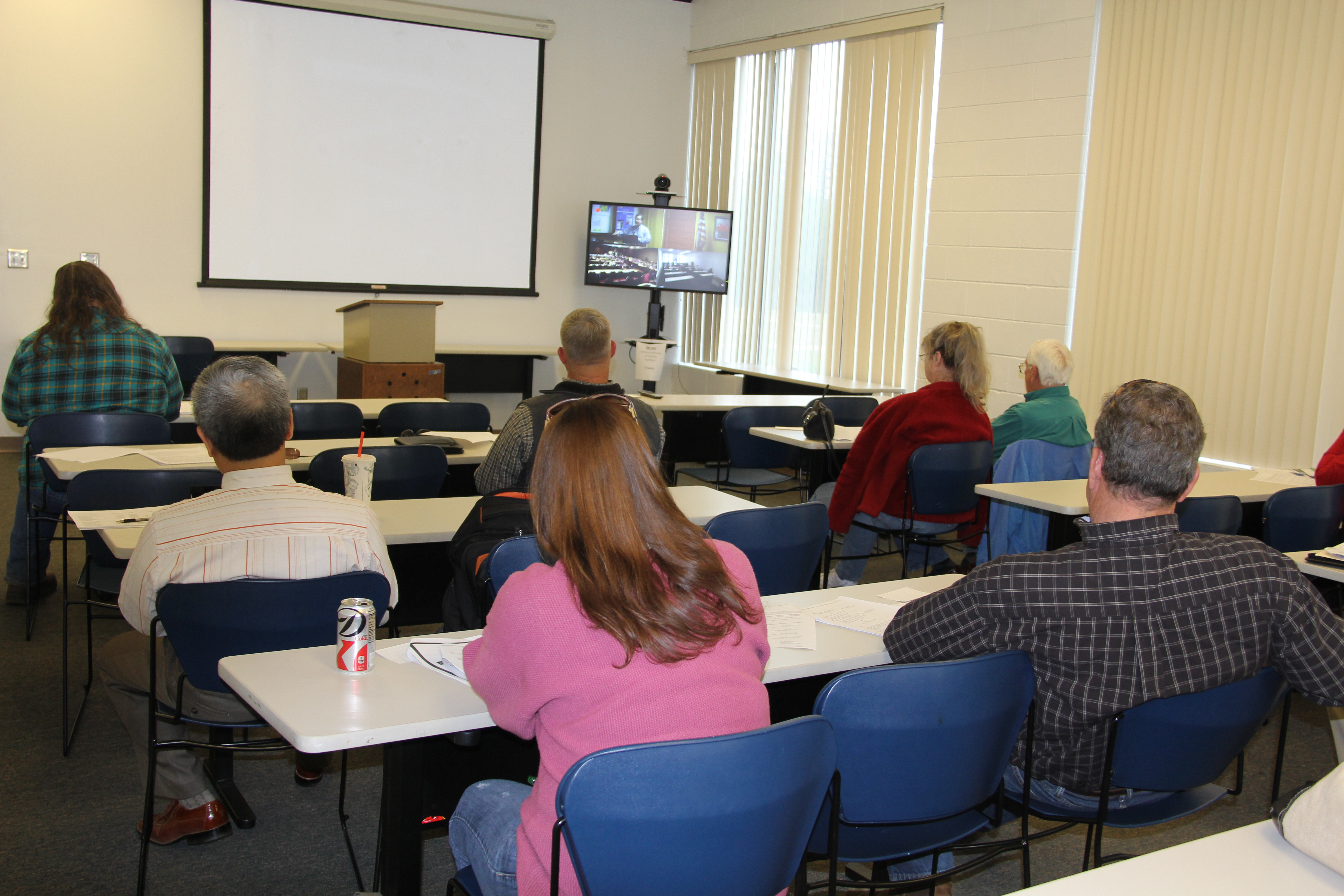 Farmers and members of the general public met in Macon on March 20 to view a listening session in Atlanta on the proposed new food safety act.