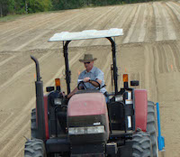 Peanut farmers are encouraged to plant peanuts during the early April-late May timeframe.