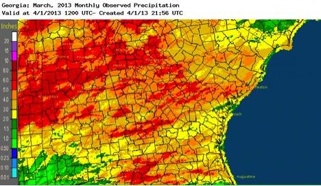 March 2013 Precipitation