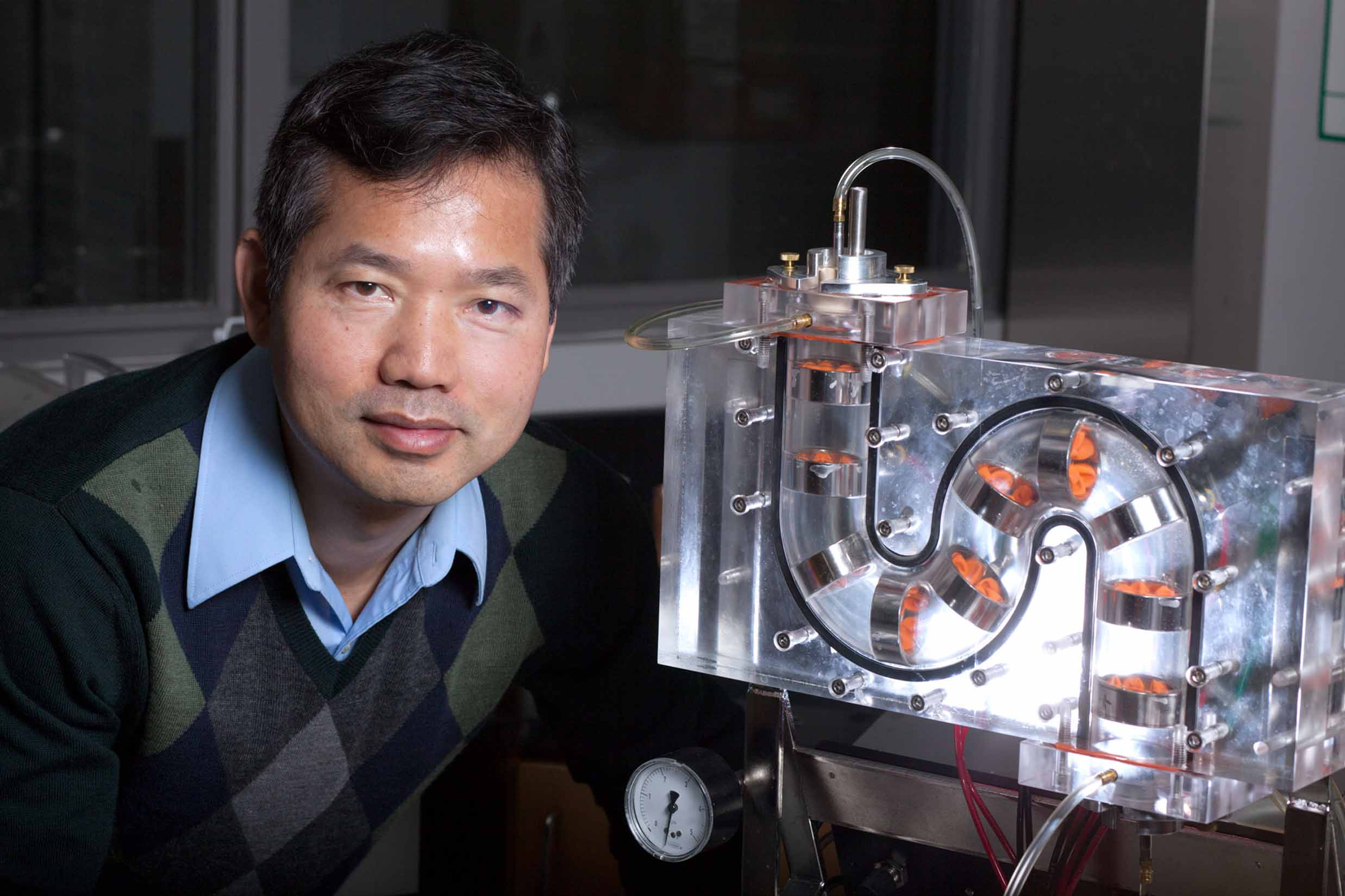 Fanbin Kong, a researcher in the University of Georgia College of Agricultural and Environmental Sciences Department of Food Science Technology, has spent is career studying how our bodies interact with the food we eat.