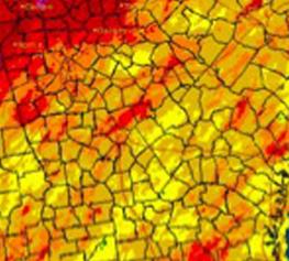 April Precipitation Map
