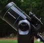 Theo Ramakers of the Charlie Elliott branch of the Atlanta Astronomy Club is shown with his CPC 925 telescope.