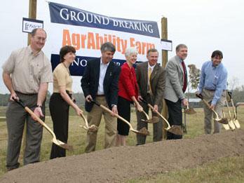 AgrAbility groundbreaking