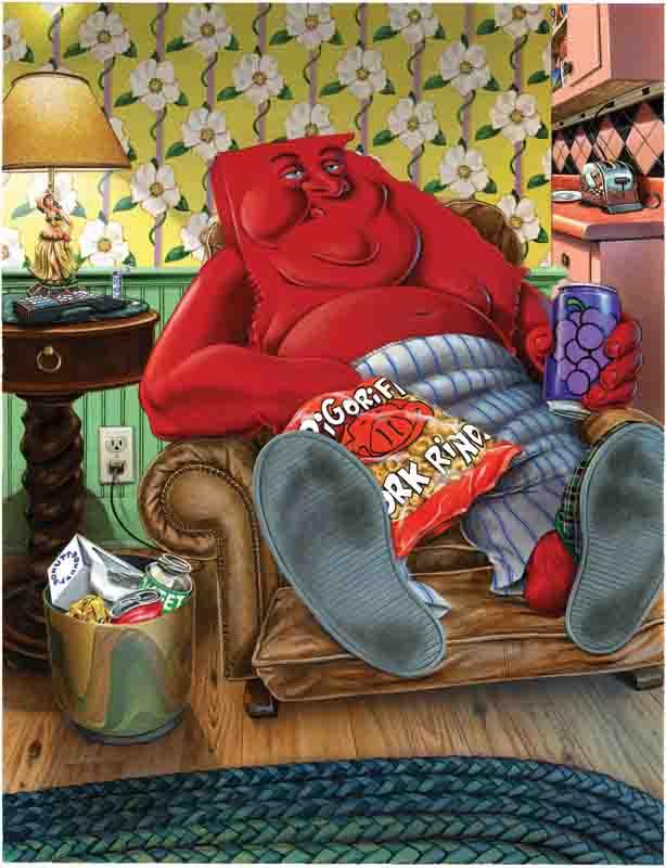 Obese Georgia