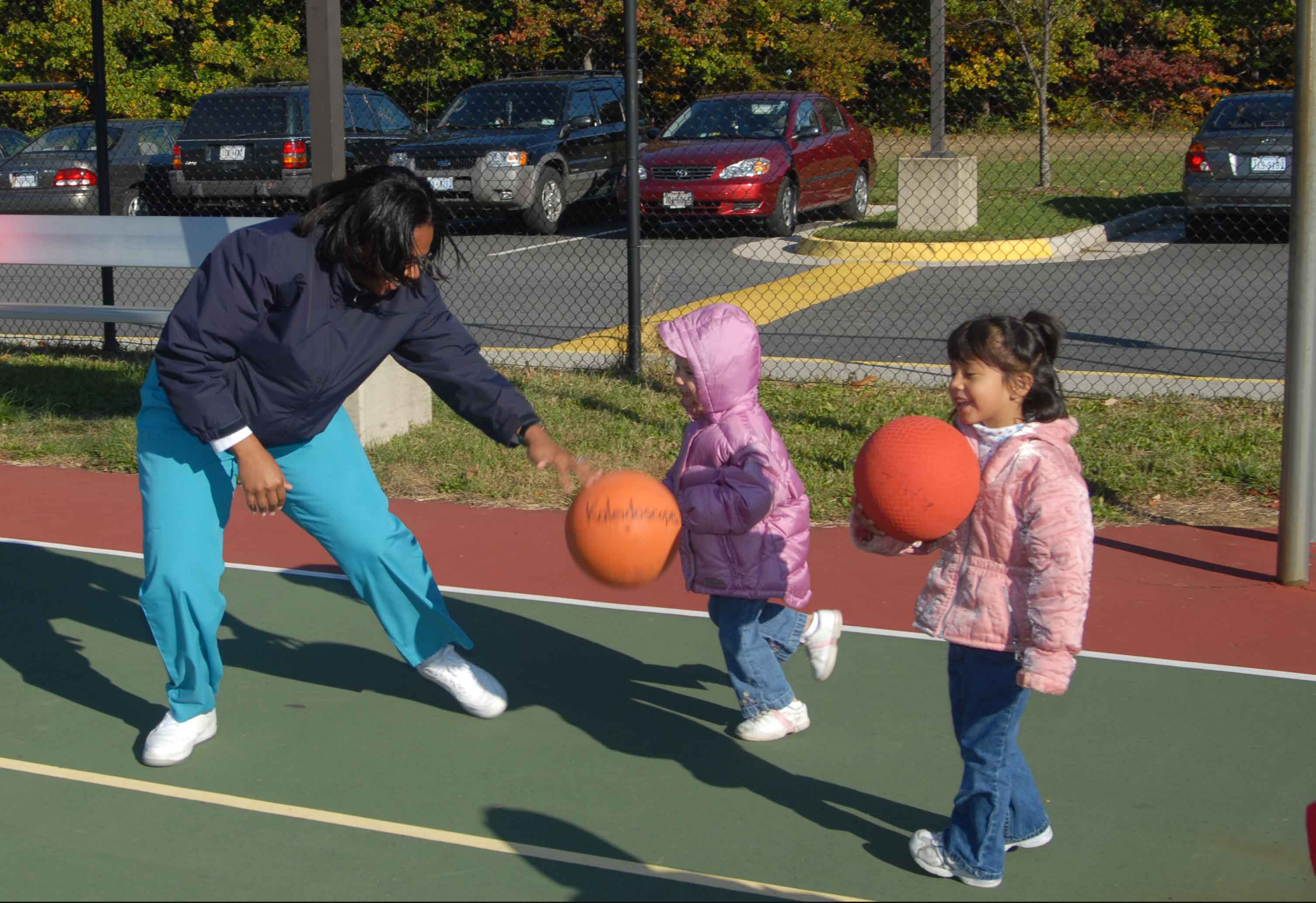 Young children need 60 minutes of active playtime to ensure good health.