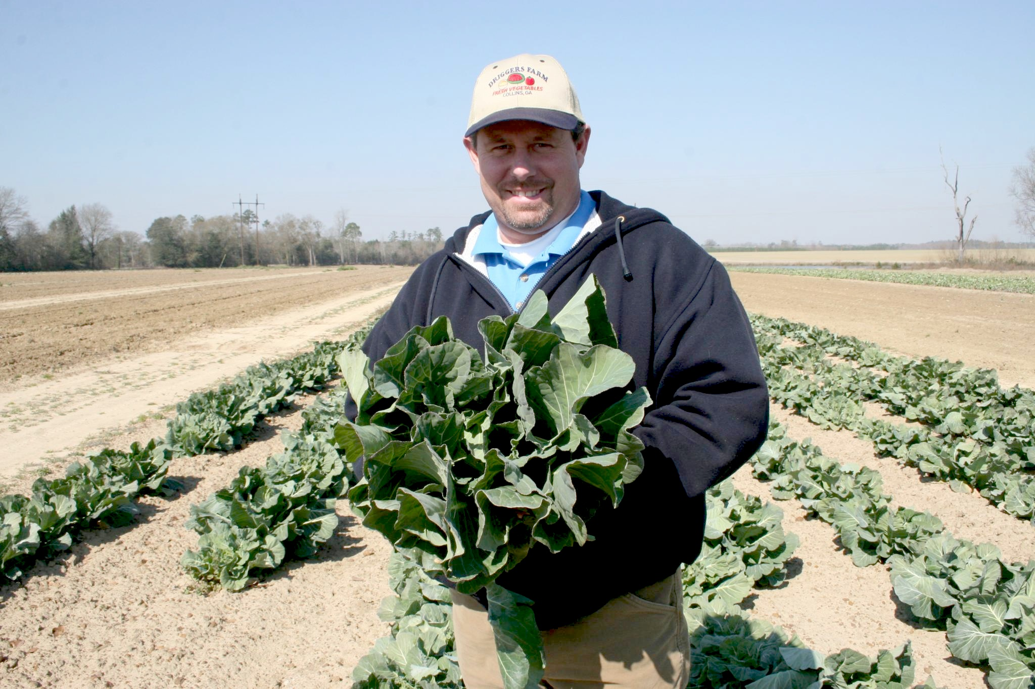 Southern farmers like Walter Driggers of Collins, Ga., can apply for grants from the SSARE to help pay the cost of trying new techniques on their farms.