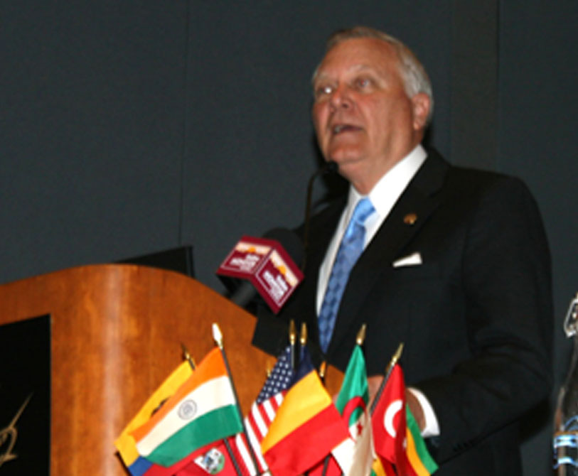 Georgia Gov. Nathan Deal speaks during the International Agribusiness Conference and Expo on Sept. 25 in Savannah.