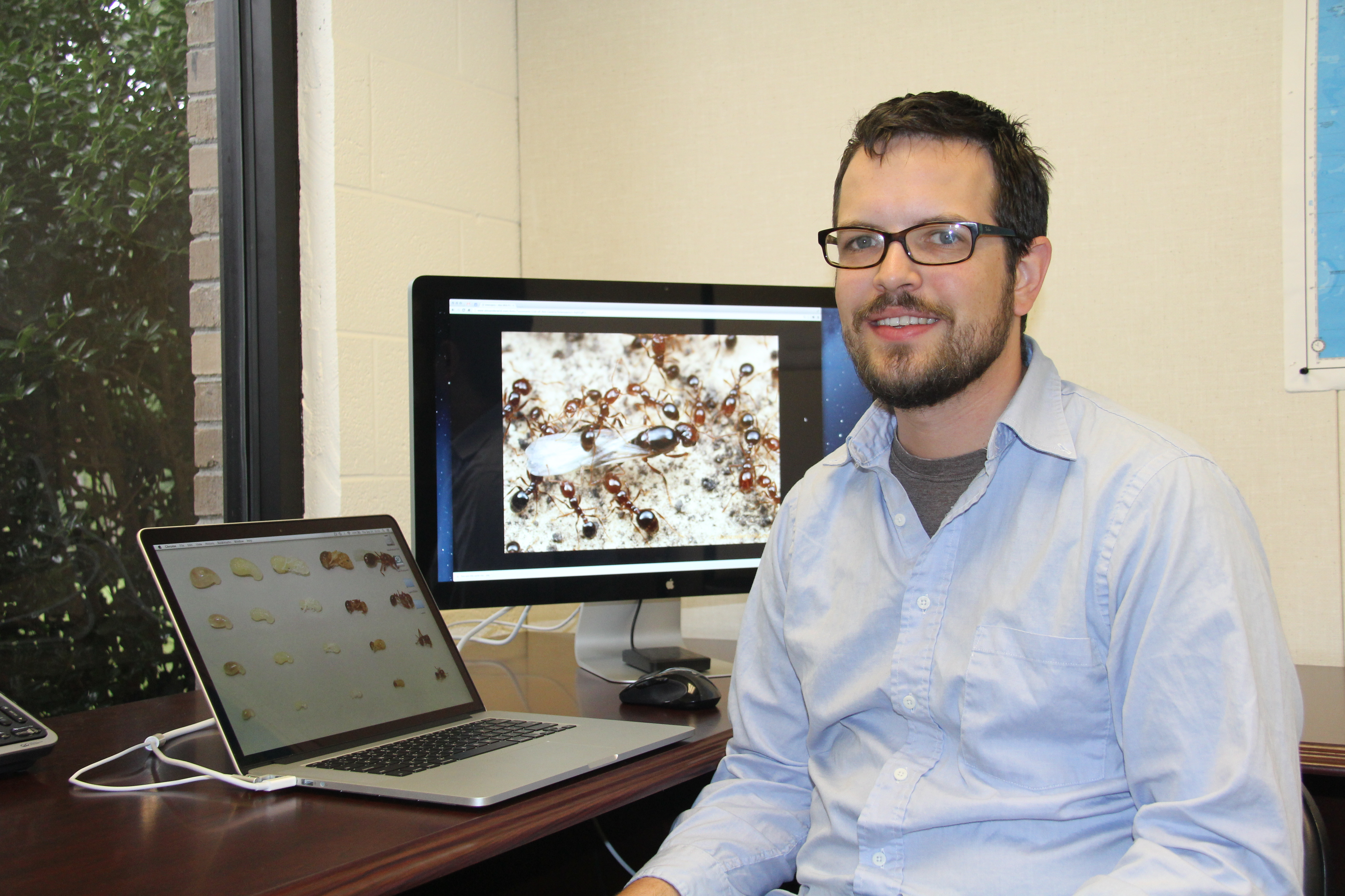 Entomologist Brendan Hunt has joined the faculty of the University of Georgia College of Agricultural and Environmental Sciences. He is based on the Griffin campus and his research focus is fire ant genetics.