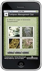 Turfgrass Management Quiz is a mobile app designed by University of Georgia faculty for turfgrass students. It can also be used by turfgrass professionals who want to brush up on their knowledge. It's a fun application that challenges users to get the best score, improve on their score and test their knowledge.