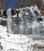 Amicalola Falls in Dawson County froze into a beautiful spectacal to behold on Jan. 7, 2014.