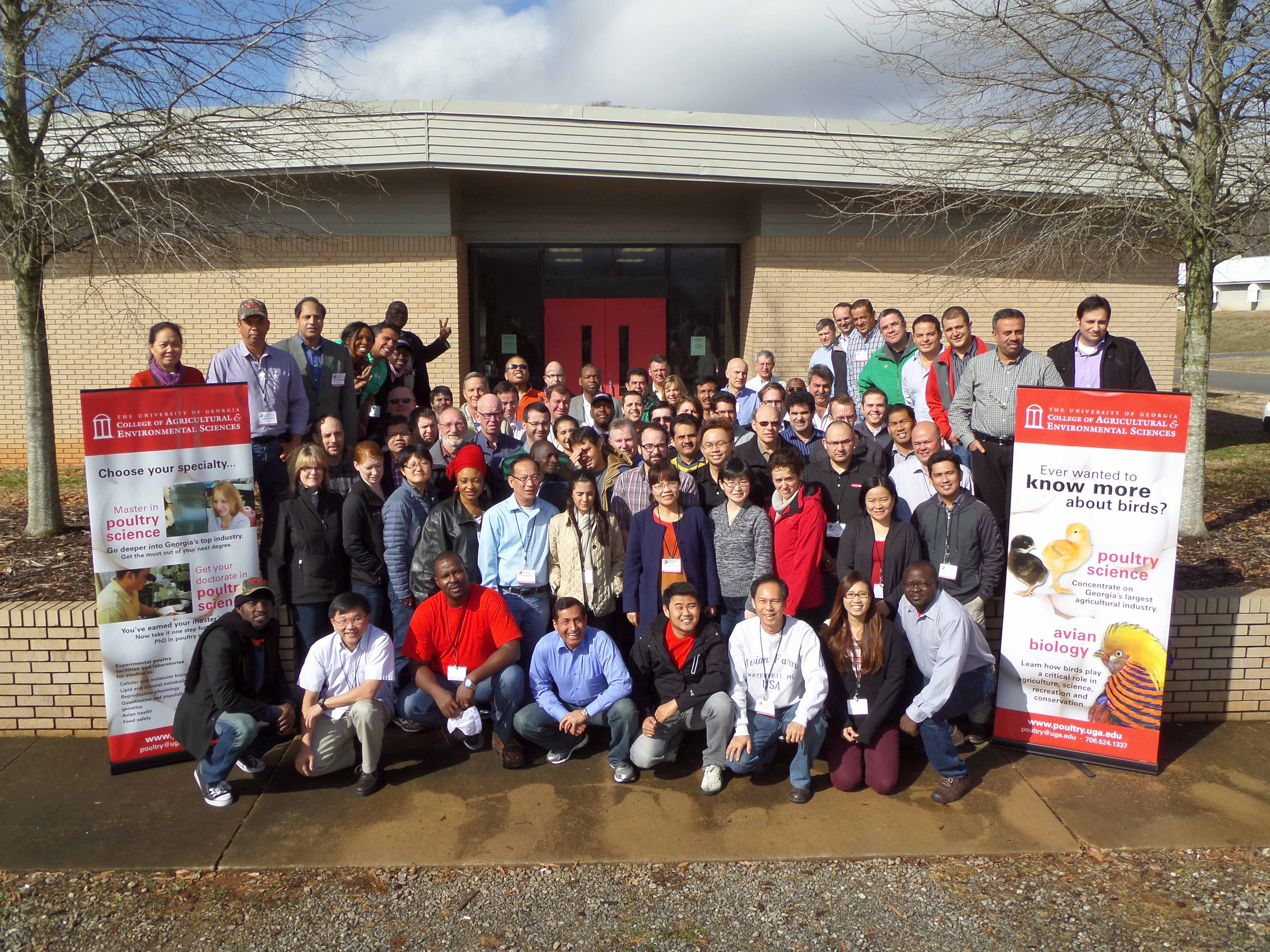 More than 70 poultry farmers and scientists from around the world and the U.S. flocked to Georgia this week for the UGA Department of Poultry Sciences International Short Course.