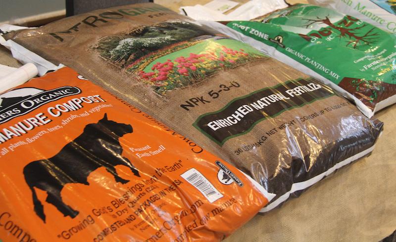 Unlike bagged manure,