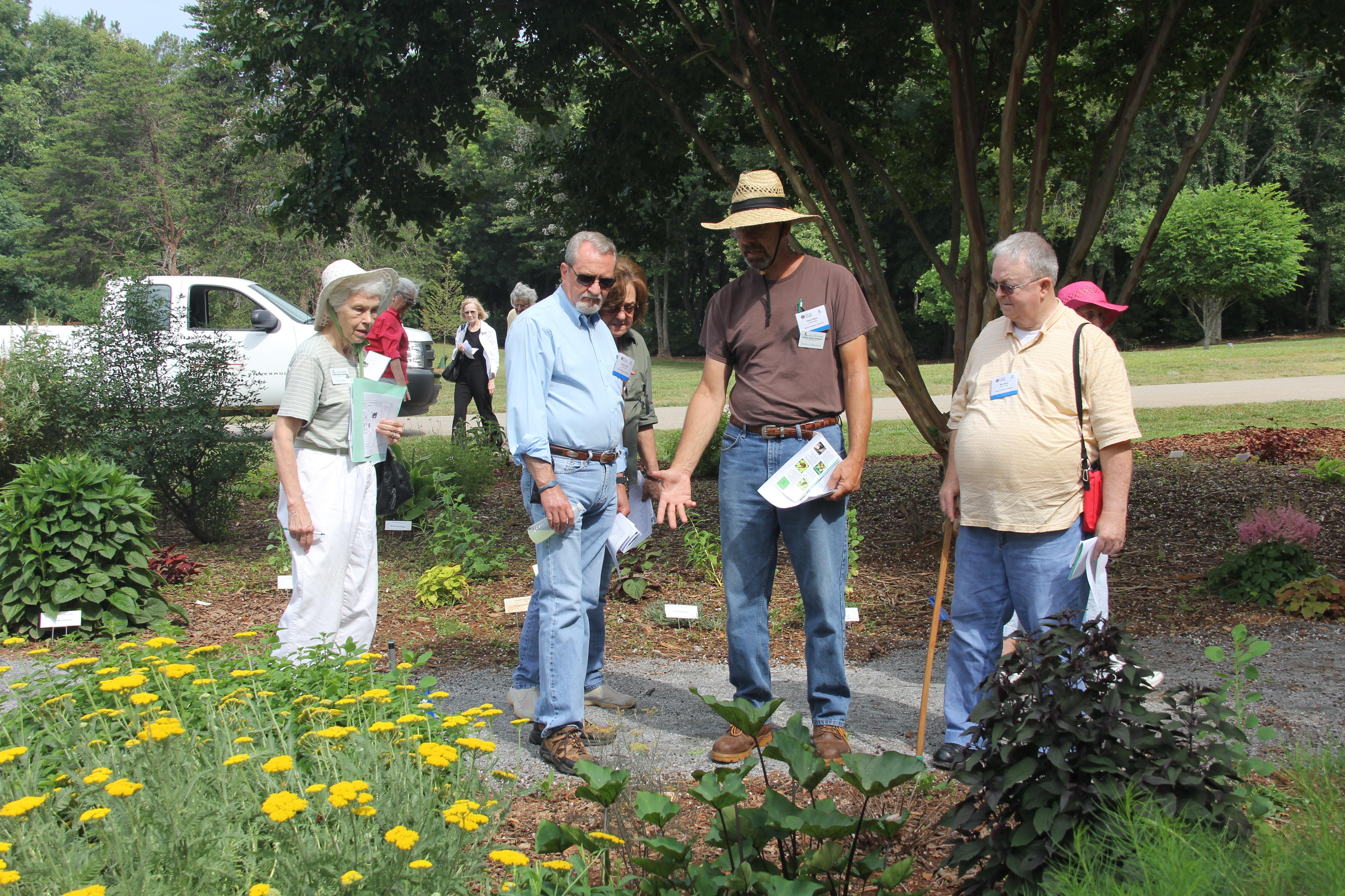 Georgia's Master Gardener Extension Volunteers were invited to the University of Georgia's campus in Griffin on June 5 for a 35th Anniversary celebration. In true form, the volunteers spent the day learning from UGA experts so they can continue to help educate the public on the latest research-based information.