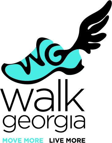 The Walk Georgia logo was introduced in 2014.