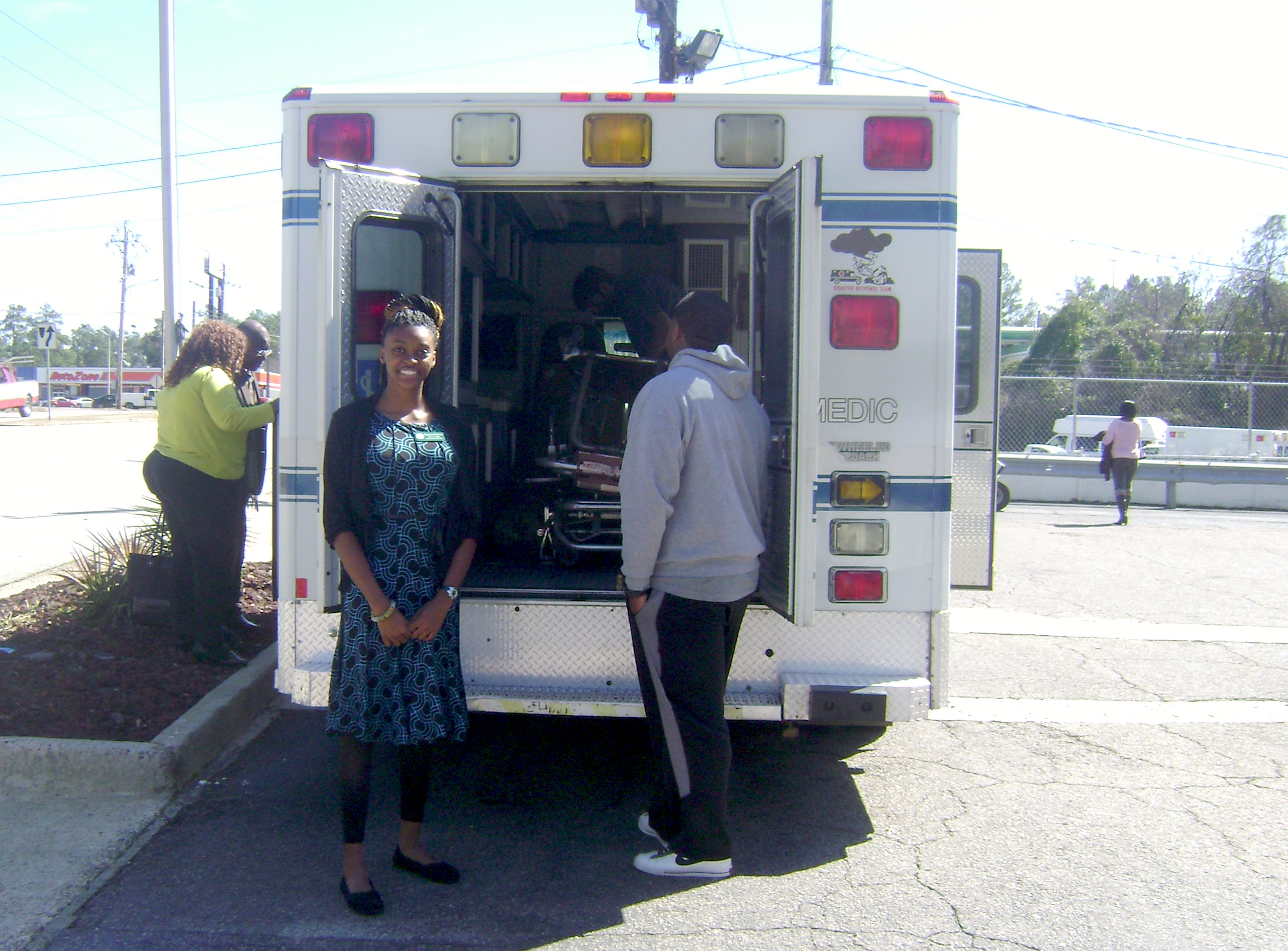 Shamika Robinson, an 11th-grade 4-H'er in Hancock County, Georgia, sent letters and made phone calls that resulted in an ambulance being donated to the Nhyira Medical Relief organization.    Robinson's search for an ambulance ended rather quickly when Jim Adkins, CEO of SouthStar EMS in Augusta, donated a fully equipped ambulance stocked with medical supplies. Having been on eight mission trips to Romania, Adkins had seen firsthand the great need for medical services in developing nations.