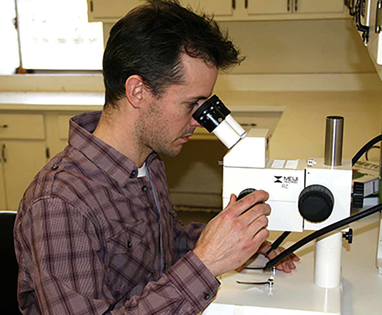 Jason Schmidt is UGA Tifton's newest entomologist.