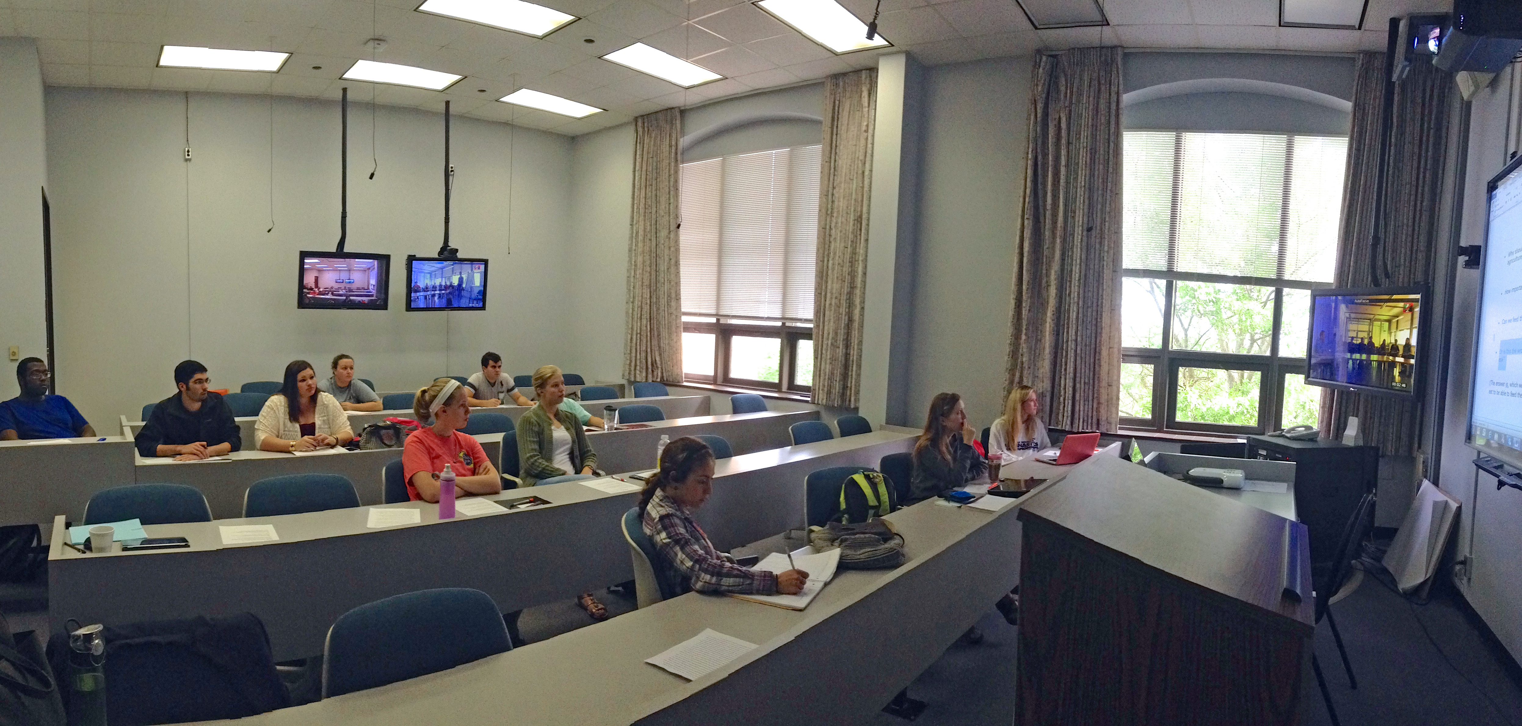 Students in Department of Agricultural Leadership, Education and Communication (ALEC), Professor Dennis Duncan's Global Seminar in Agricultural Leadership course each spring.