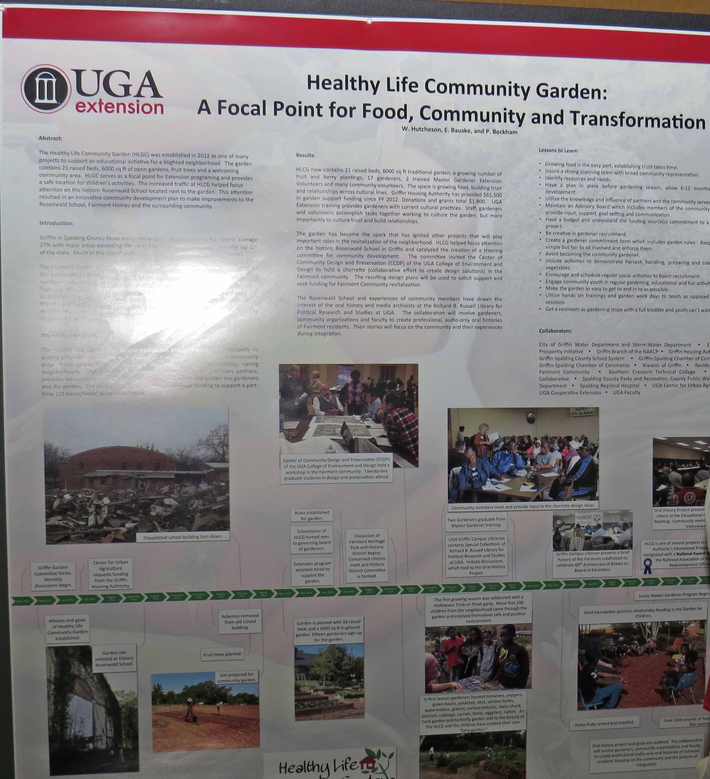 Wade Hutcheson, county Extension coordinator for Spalding County, was one of many UGA Extension agents to present at the 2015 Urban Extension Conference in Atlanta.