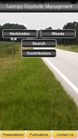 "Using a partial research grant from Georgia DOT, University of Georgia weed scientist Patrick McCullough has designed a mobile app using DOT terminology to make the tool user-friendly for workers. ""All the information they need to make the best management decisions for controlling roadside weeds and vegetation is now literally at their fingertips,"" he said."
