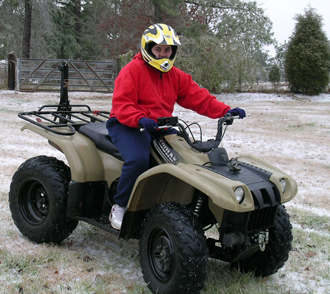 Children driving and riding three- and four-wheeled vehicles is commonplace in many rural Georgia counties. Unfortunately, what may seem like innocent fun can lead to serious injuries and even death. One Georgia 4-H agent is taking a stand to educate children and parents in her county, hopefully saving lives in the process.