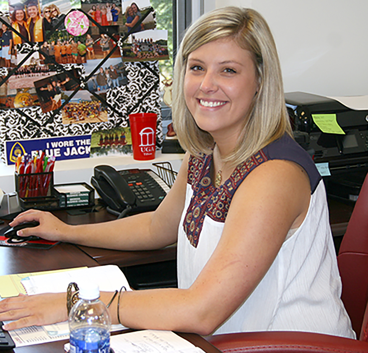 Breanna Coursey is the academics counselor for the UGA Tifton Campus.